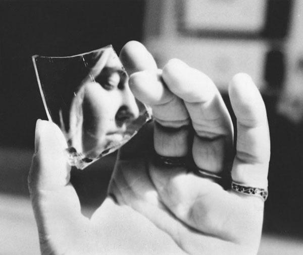 Black Paint Reflection