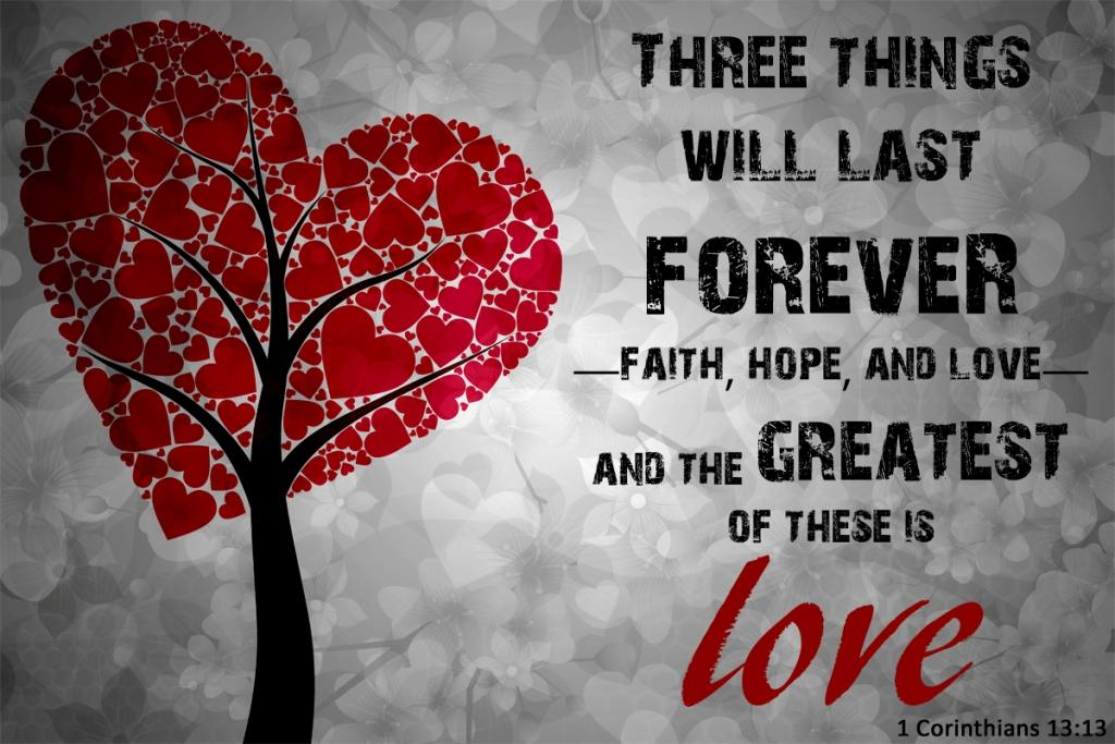 Image result for I Corinthians 13:13