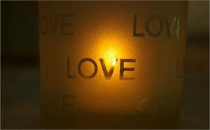 Love candle by Russell Matin free photo #1004